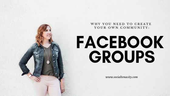 Facebook Groups: Why You Need To Create Your Own Community. One of the best ways to network is to create a community of like-minded people. Facebook groups are the key to doing this online. Learn how to create your own Facebook Group.