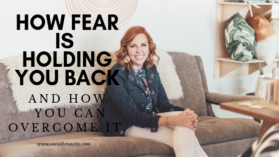 When it comes to fear, every single person is going to feel this at some point. What are some of the things that are stopping you from being successful in your business? What are you feeling fearful about? Learn how to overcome your fear.
