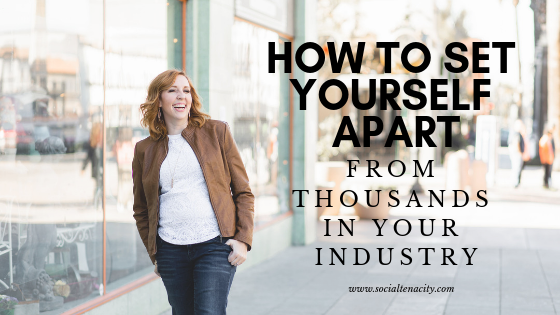 The hardest thing about being in direct sales is that you have hundreds of thousands of reps doing the same thing you are. Learn how to set yourself apart.