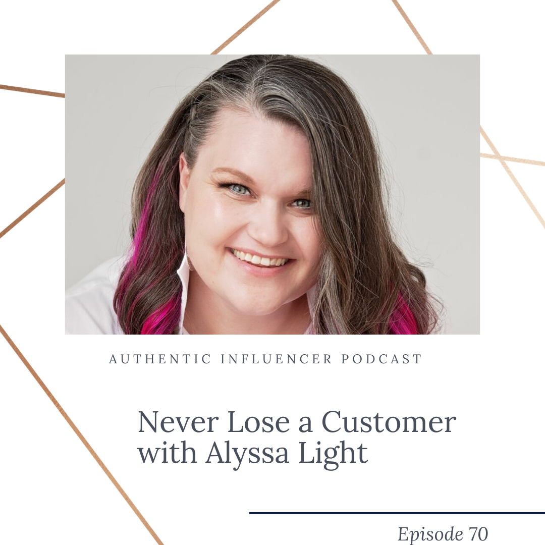 On this episode of the Authentic Influencer podcast, Brooke and Alyssa talk through the element of surprise in marketing, why the extra effort is always worth it, and how to use your insight to give a perfect personalized gift. Listen in to start standing out!